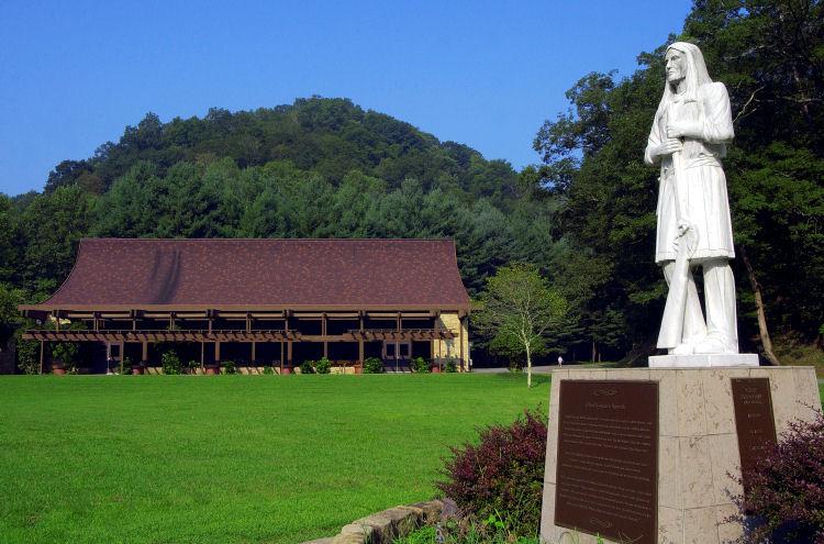 Chief Logan Statue and Museum/ Restaurant