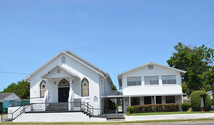 Exterior view of the Mount Moriah Missionary Baptist Church, photo from the official website.