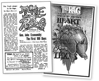 Although the building at Nueces no longer exists, The Rag made a lasting impact on the culture of Austin and underground press across the country.