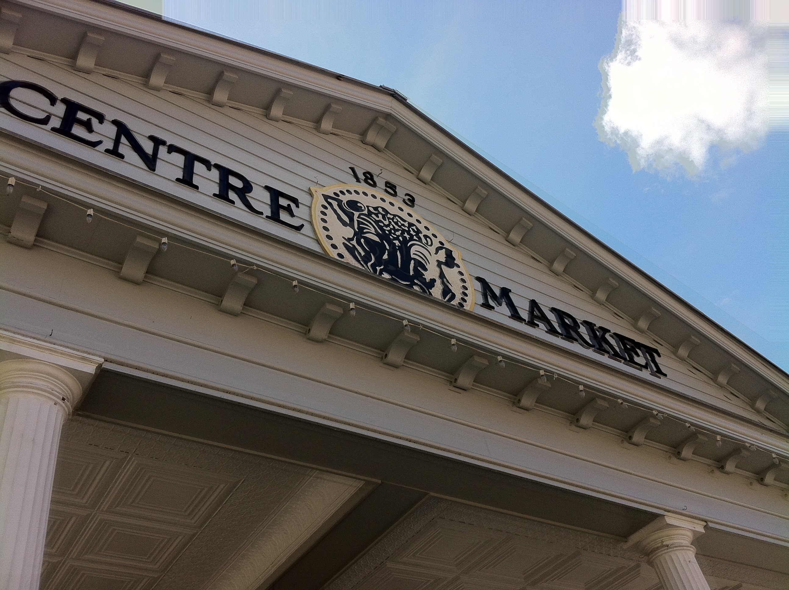 Centre Market Sign