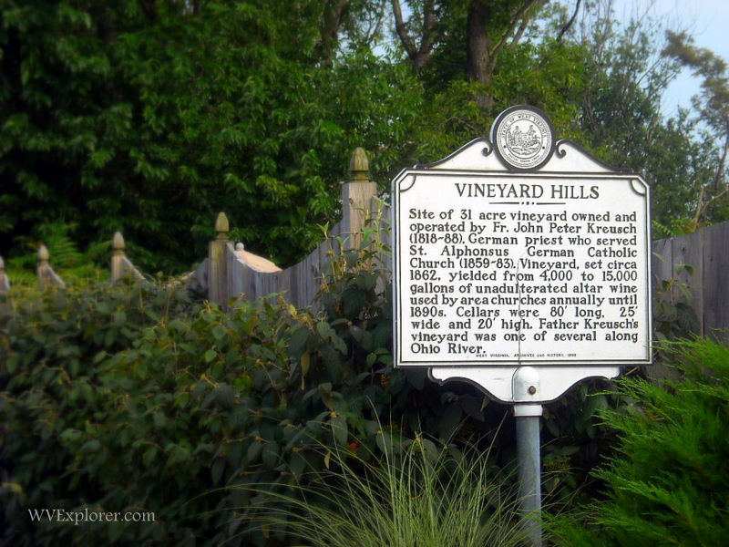 Vineyard Hills Highway Historical Marker