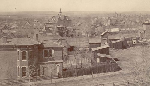 Five Points, ca. 1885. Between 1880 and 1910, the black population of Denver grew from 1,046 to 5,246. The majority of these residents lived in Five Points.