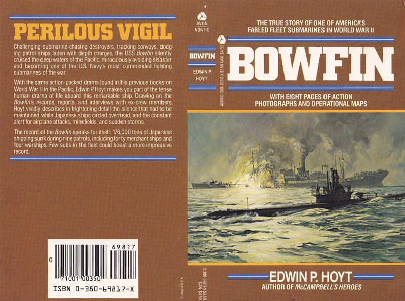 Veteran military historian Edwin P. Hoyt's nonfiction account of the Bowfin's wartime operations provides a full account of the submarine's patrols, as well as larger context for the Pacific submarine war.