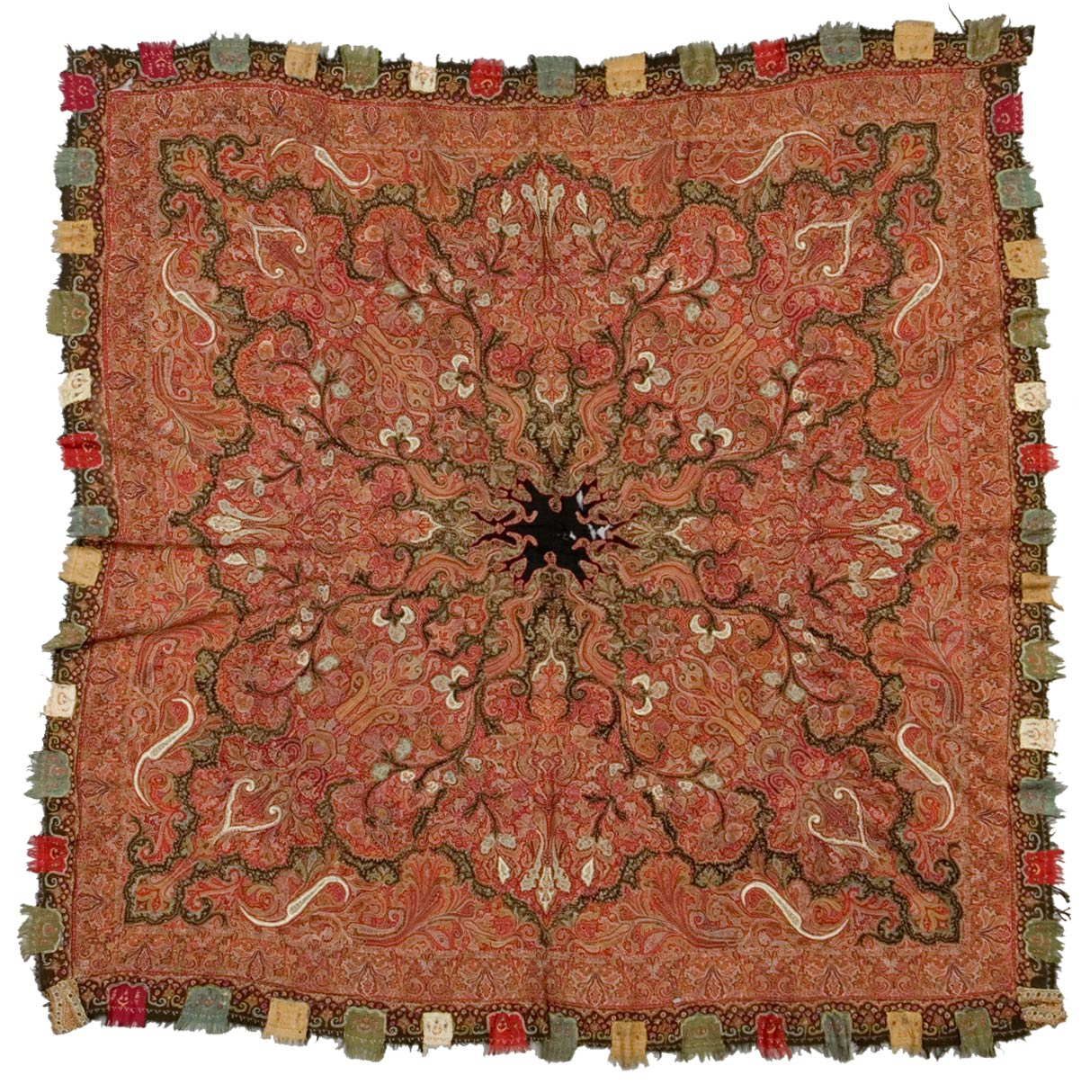 A piece of shawl from northern India