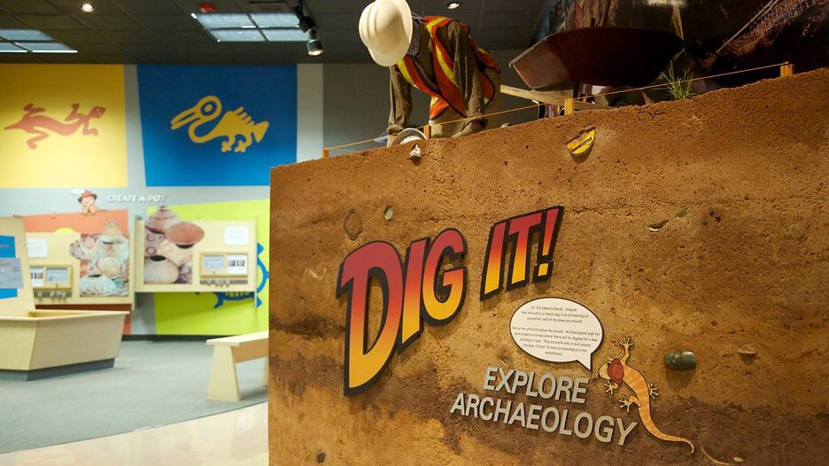 Hands on children's exhibits.