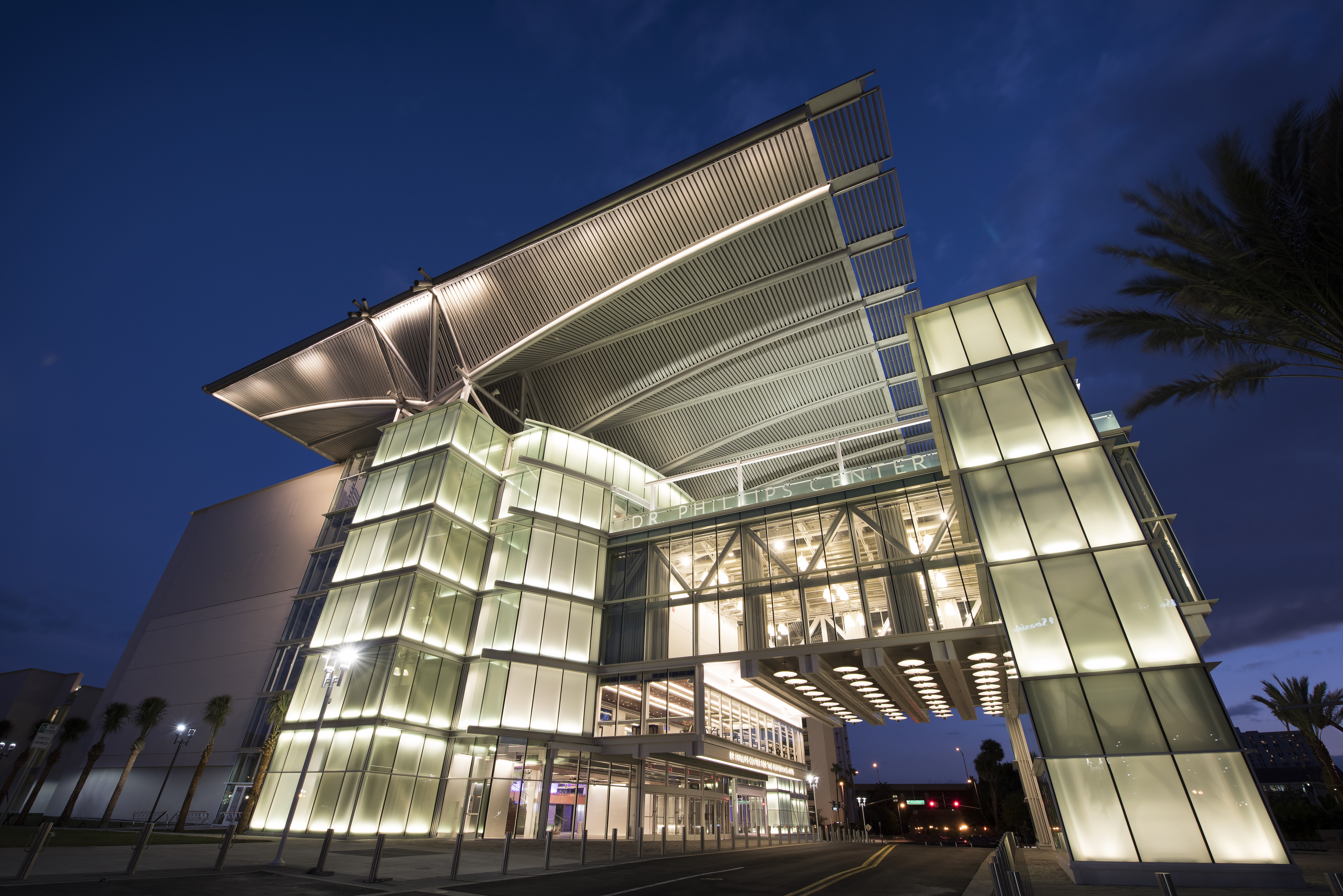 The Dr Phillips Center of the Performing Arts opened in 2014.