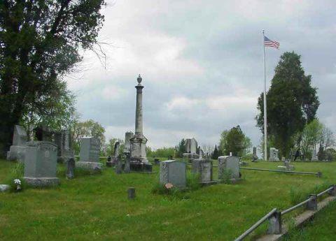Gravestones of Beverly Cemetery