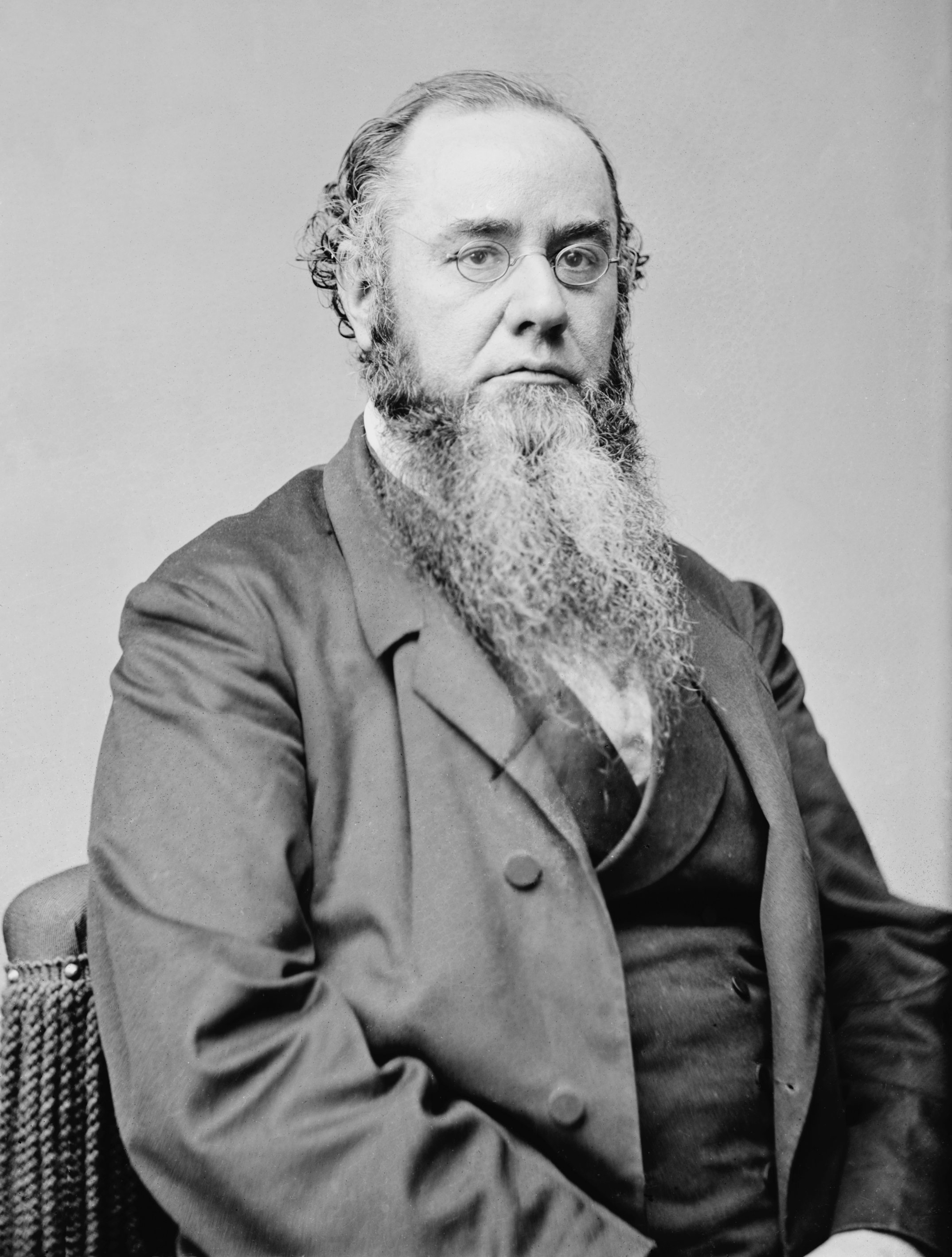 Picture of Edwin Stanton; the man for whom the school is named.