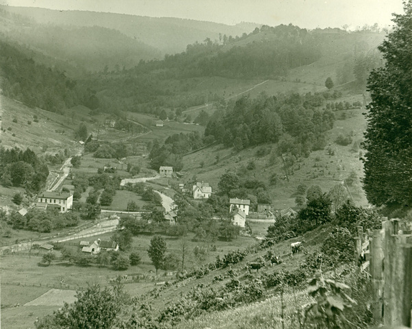 The village in 1910