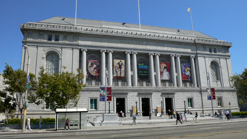 The Asian Art Museum - one of the most notable examples of Beaux-Arts architecture in the United States.