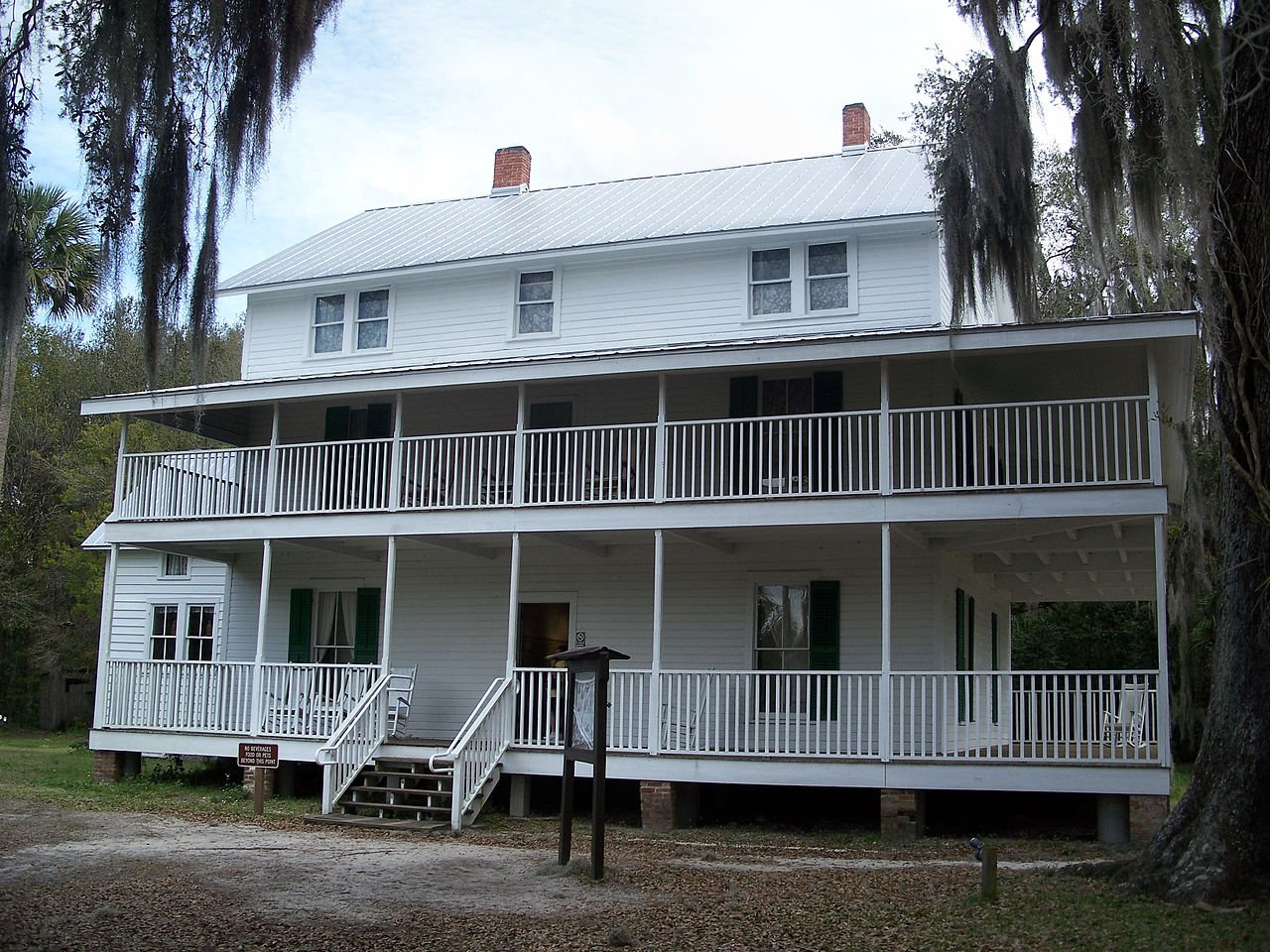 Built in 1872, the Thursby House is one of the oldest buildings in Orange City, FL.