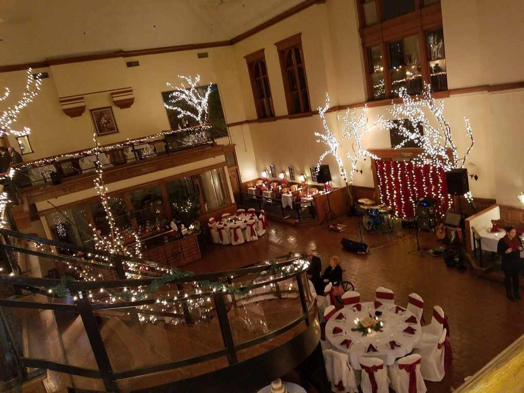 Interior of B&O Banquet Hall