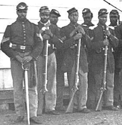 During the Civil War J.R. Clifford served as a corporal in the U.S. Colored Troops.