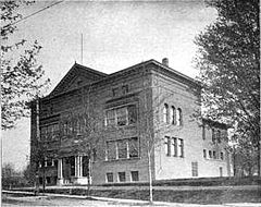 Welch Hall in 1899