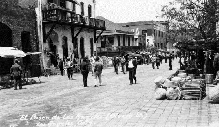 Olvera Street, c. 1930