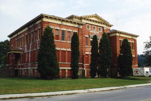 First Ward School prior to renovation.