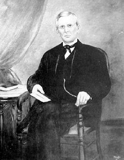 Alfred Beckley (1802-1888) founded the town of Beckley, was instrumental in creating Raleigh County and briefly served as a Confederate general for the Virginia militia in the early days of the Civil War. Image obtained from Wikipedia.