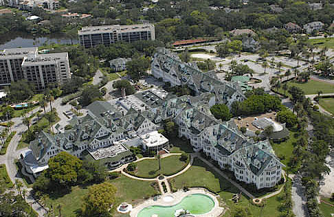 2015 aerial view of the Biltmore