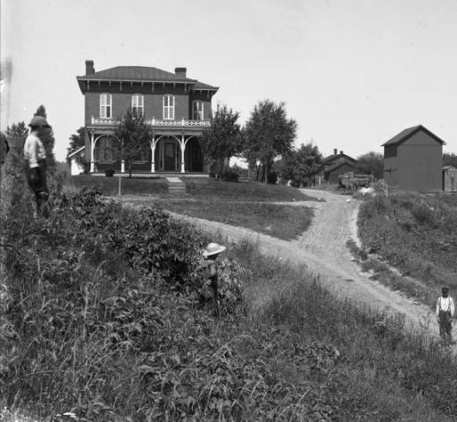 Mabel Hartzell Historical Home in the 1890s