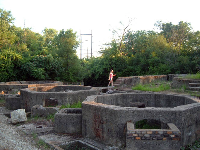 From ChicagoNow.com - picture of the ruins.