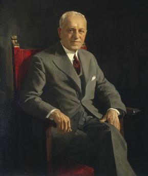 1953 portrait of Samuel Kress