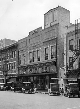 The second Kress building on Florida Ave. as seen in this 1927 photo