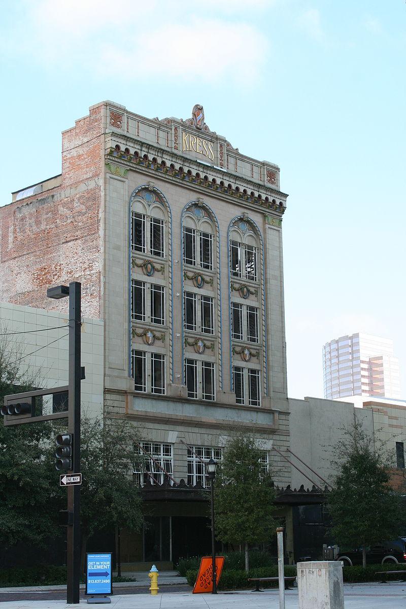 Kress building as seen today