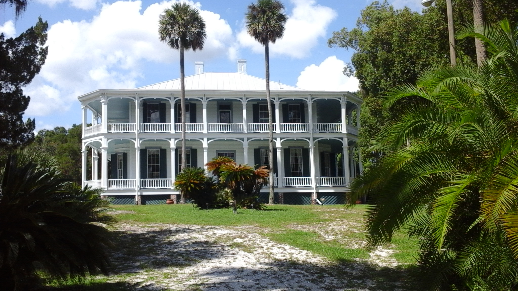 Image of main home DeBary Hall