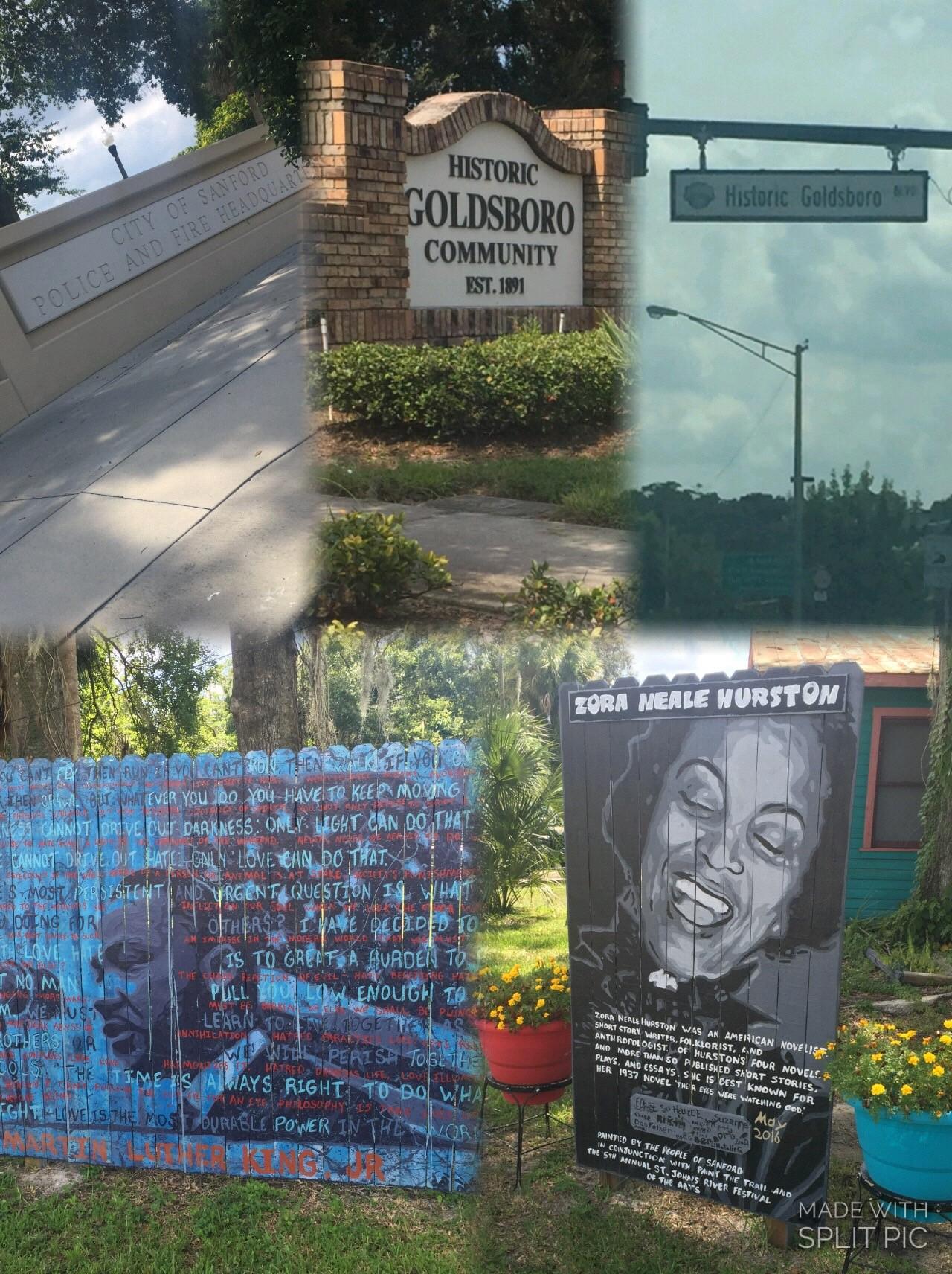 Pictures of Historic Goldsboro Blvd