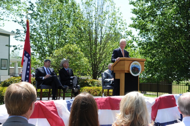 President Bill Clinton Dedicating the Birthplace Home as a National Historic Site in 2011