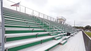 The New Bleachers at The Ward-Craycraft Stadium