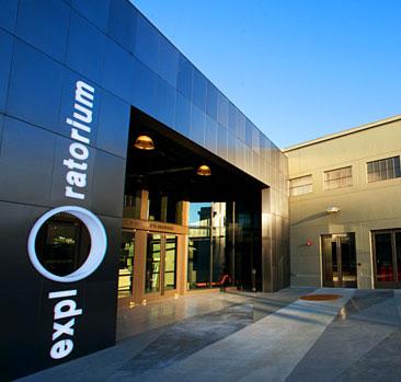 The Entrance to the Exploratorium at Pier 15.