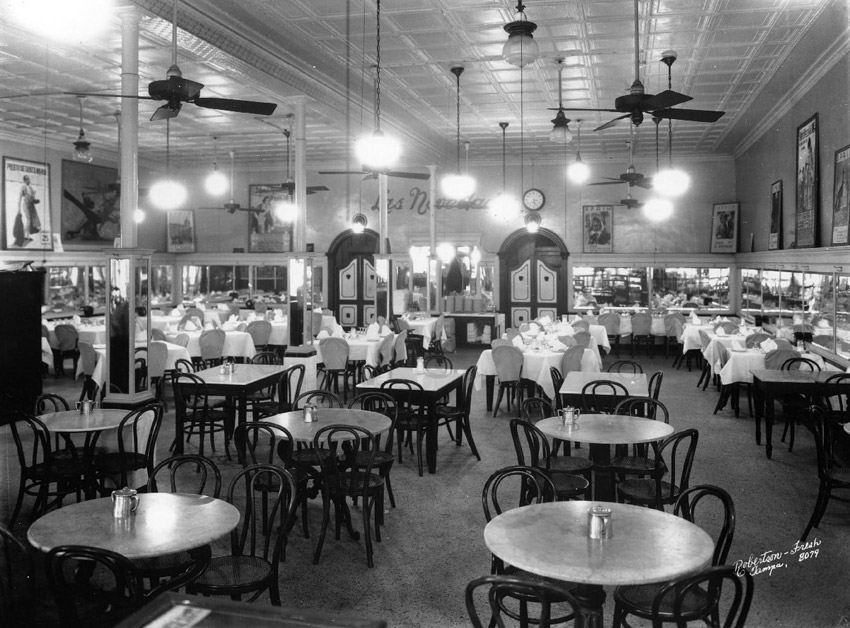 Dining room in 1946