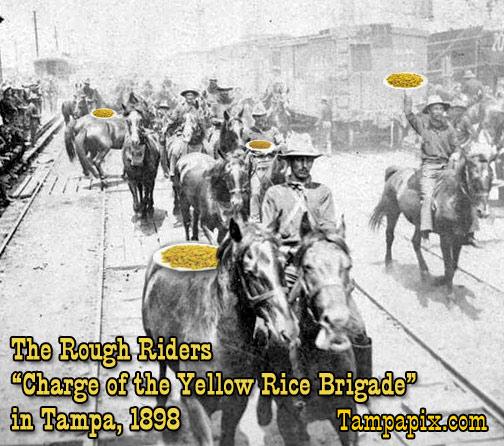 Rough Riders in Ybor City, 1898