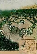 Drawing depicting the fort as it looked.