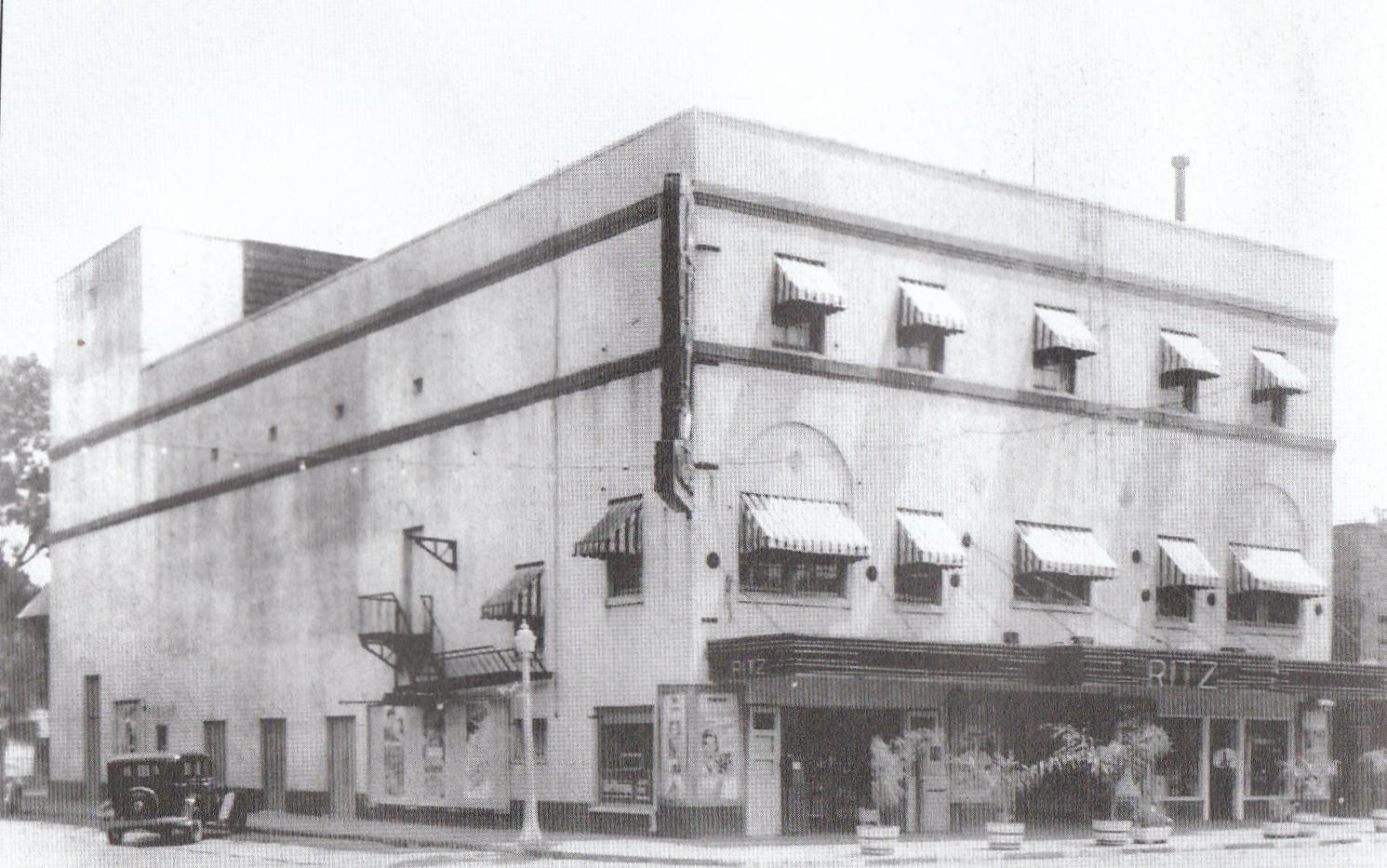 Picture of the theater when it was the Ritz Theater in the mid 1990s.