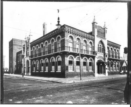 El Centro Español of West Tampa circa 1914
