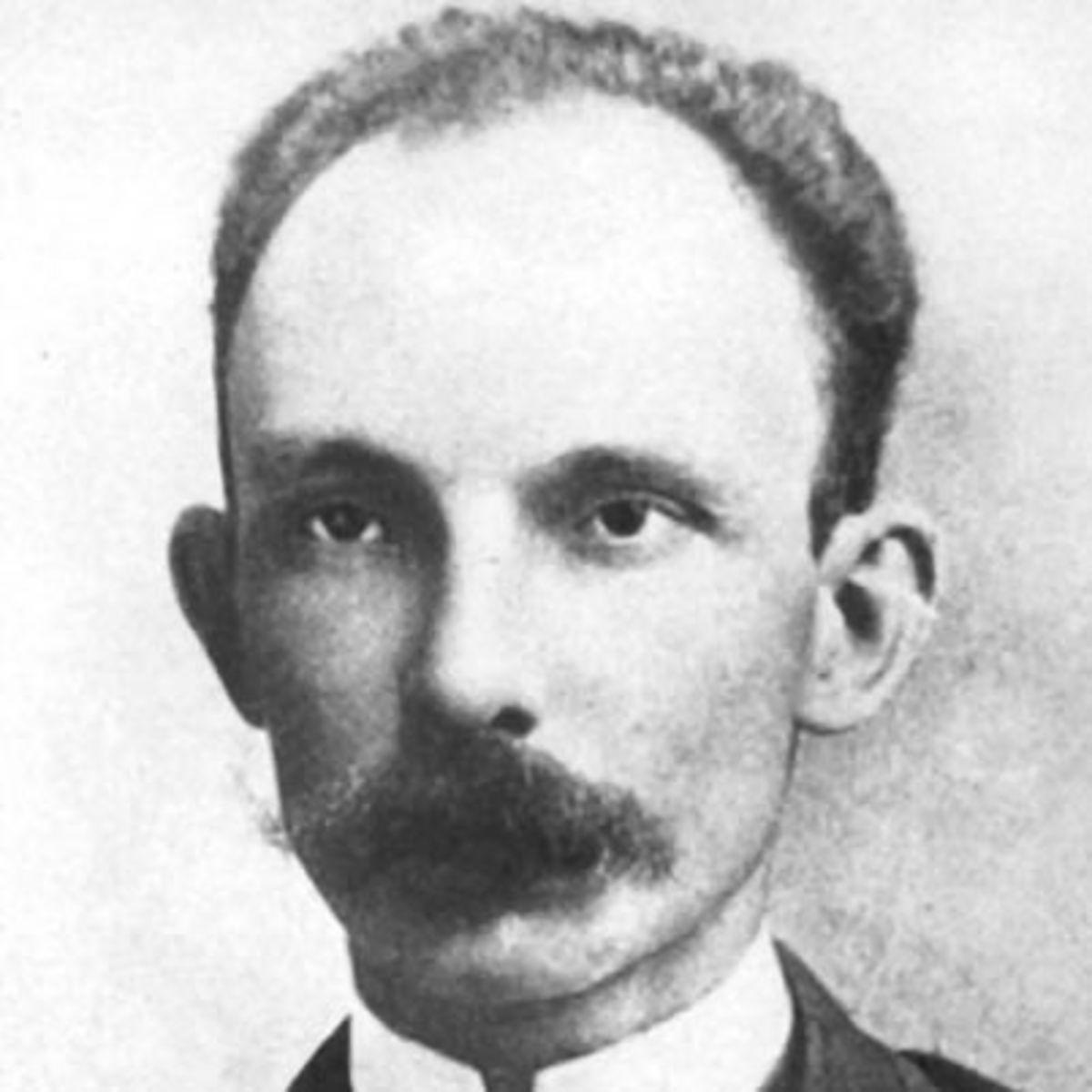 Jose Marti. Circa 1891