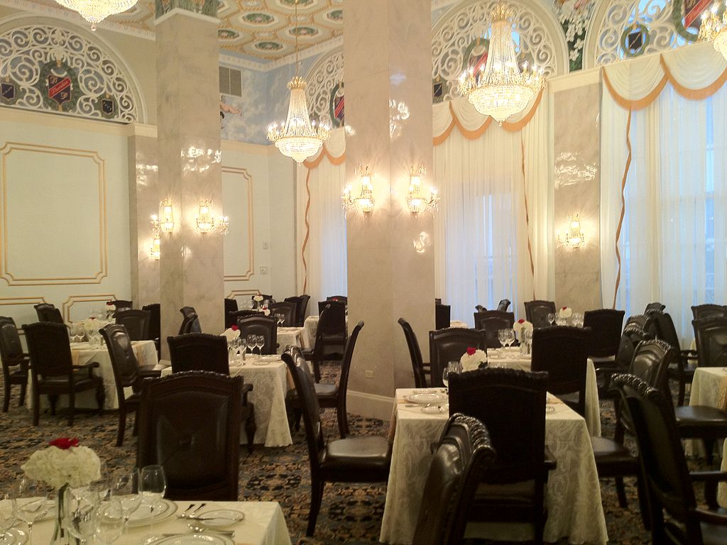 Crystal Dinning Room as it looks today