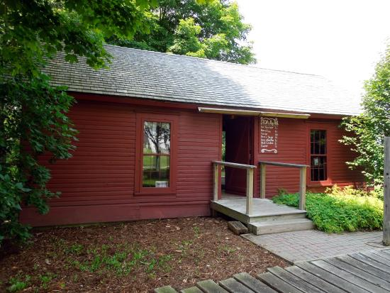 The tollgate house, the only one still surviving in Michigan