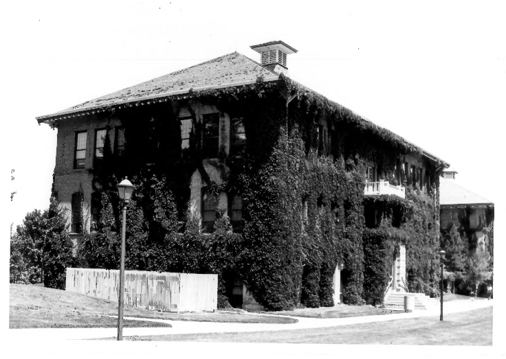 Old Main: the first official building on Southern Utah University Campus. Credit: United States Department of the Interior National Parks Service