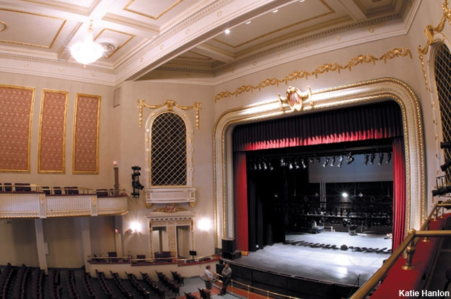 Interior of The Metropolitan Theatre