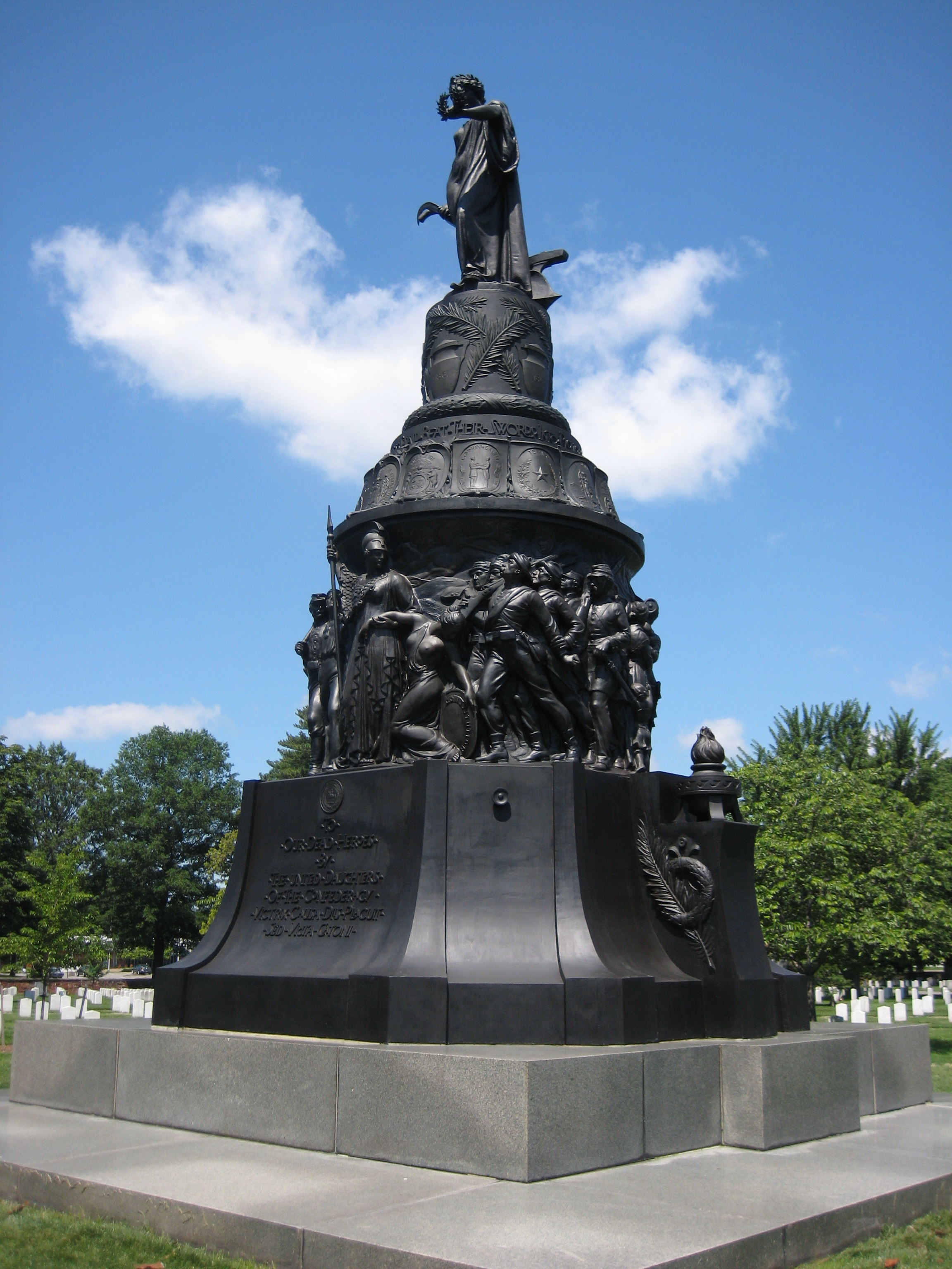 Confederate Memorial At Arlington