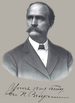 George Benjamin, West Tampa's 2nd mayor and owner of the land of the air field that bore his name before the Homer Hesterly Armor was constructed