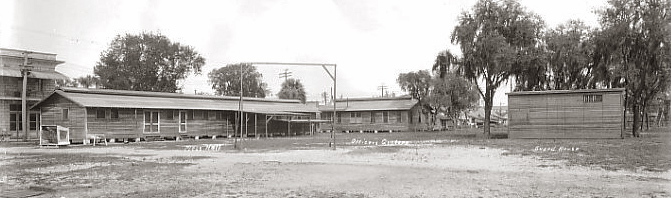 The National Guard base in 1920