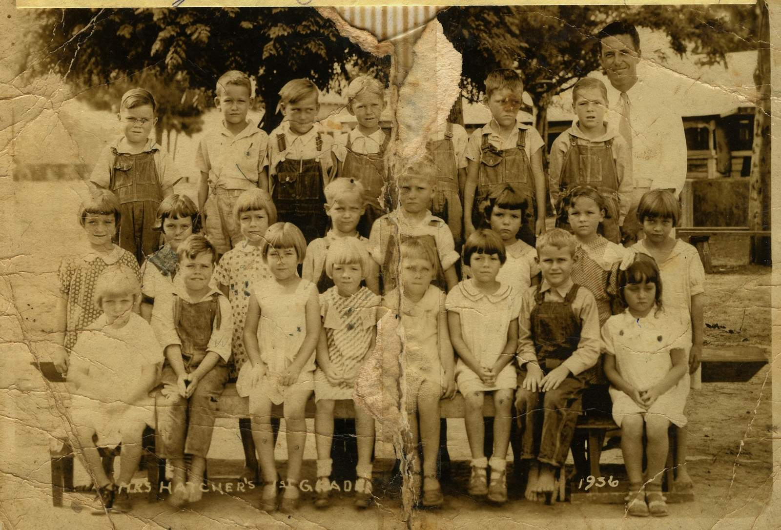 1936 class of Turkey Creek in the K-12 program