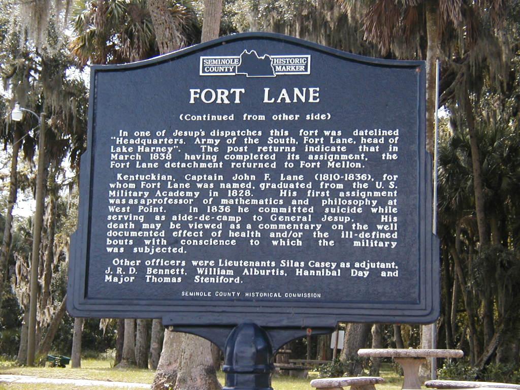 Fort Lane Park (Back)