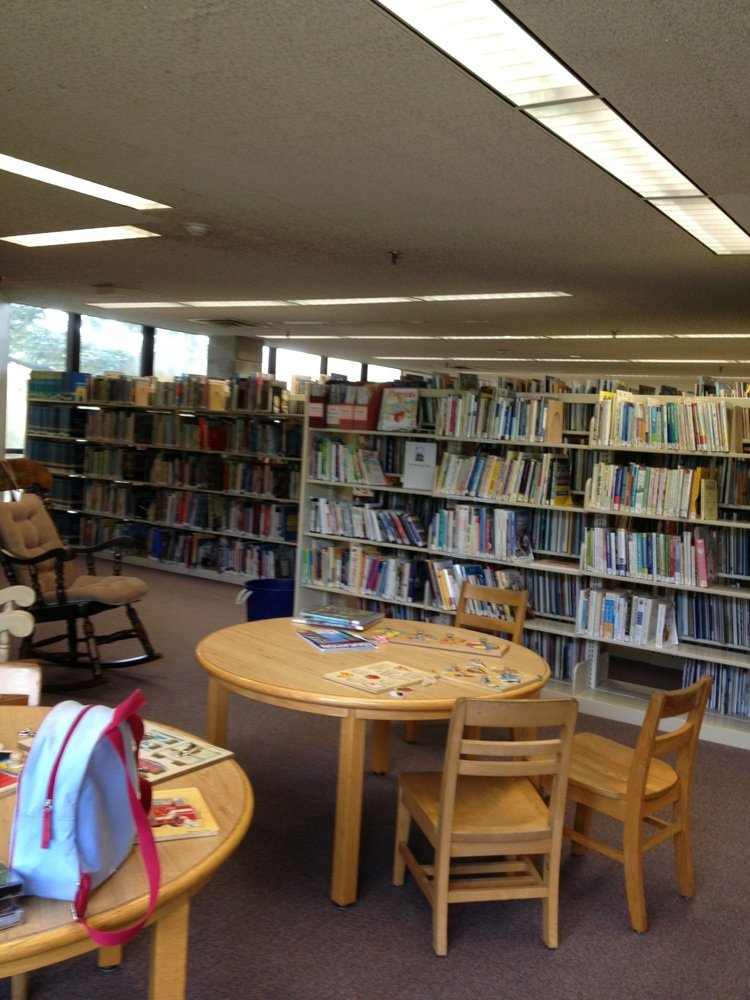 View inside the library
