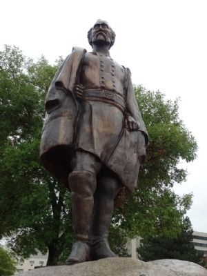The statue of Major General Jesse Lee Reno (1823-1862)