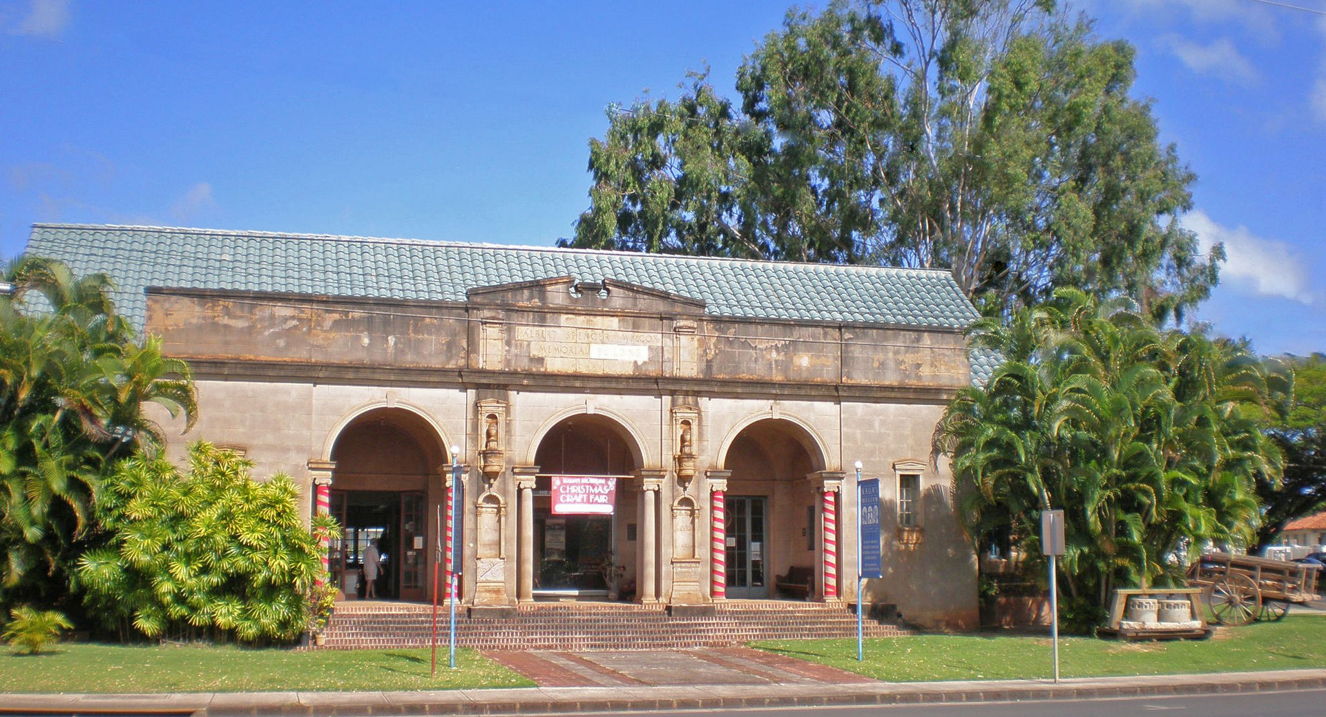 Kauai Museum, formerly the Wilcox Library.